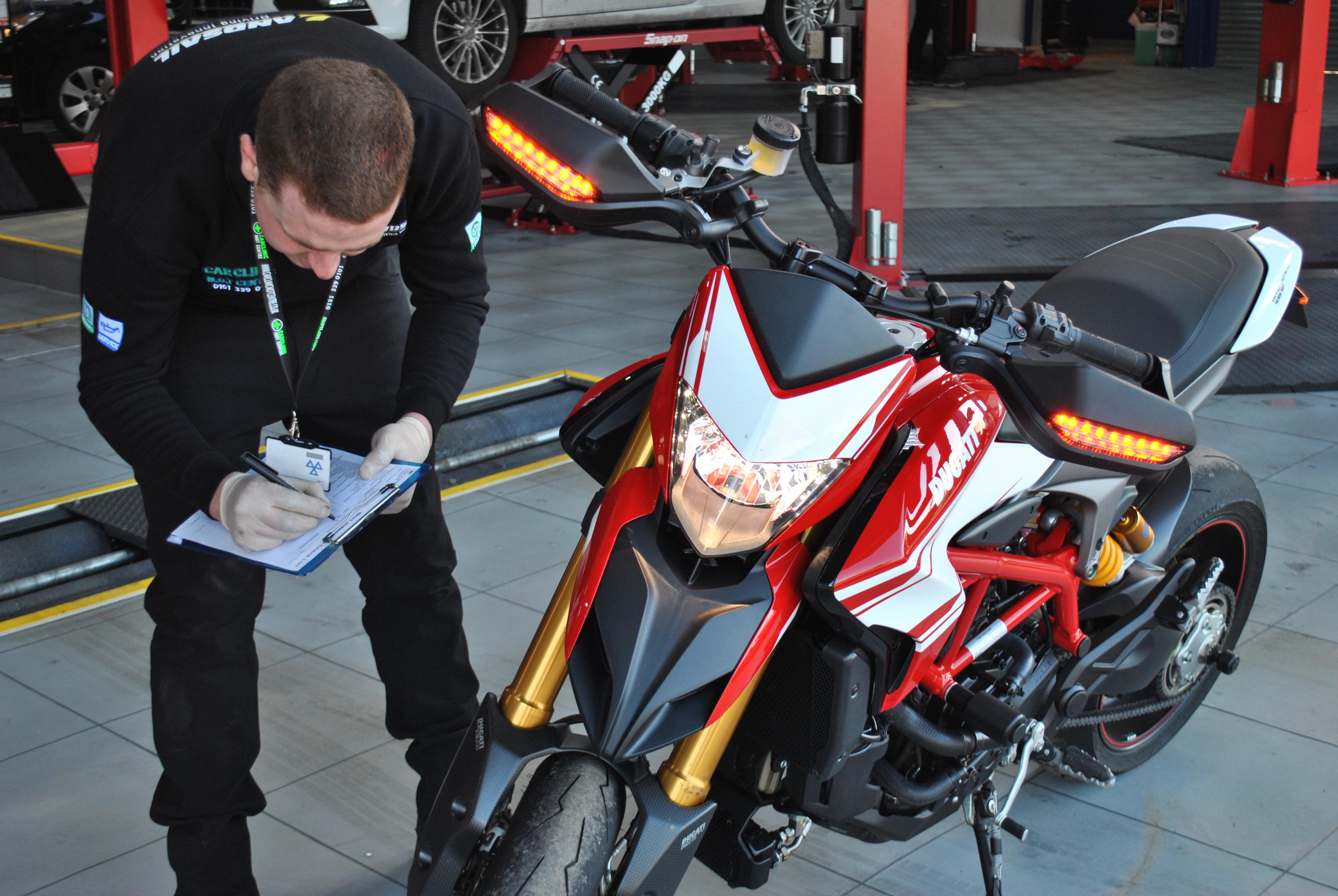 Motorcycle MOT's