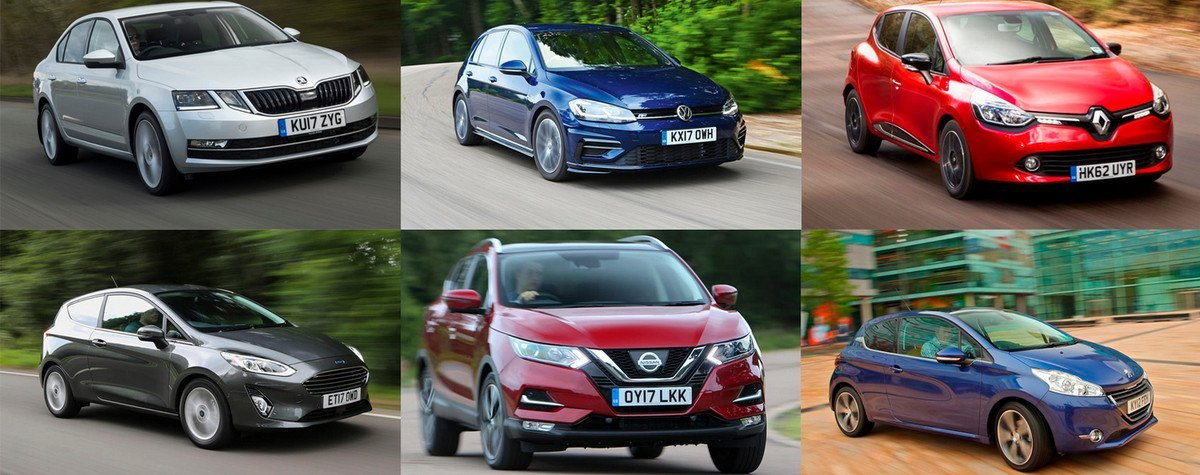 Top 10 Bestselling Cars In The UK For 2018