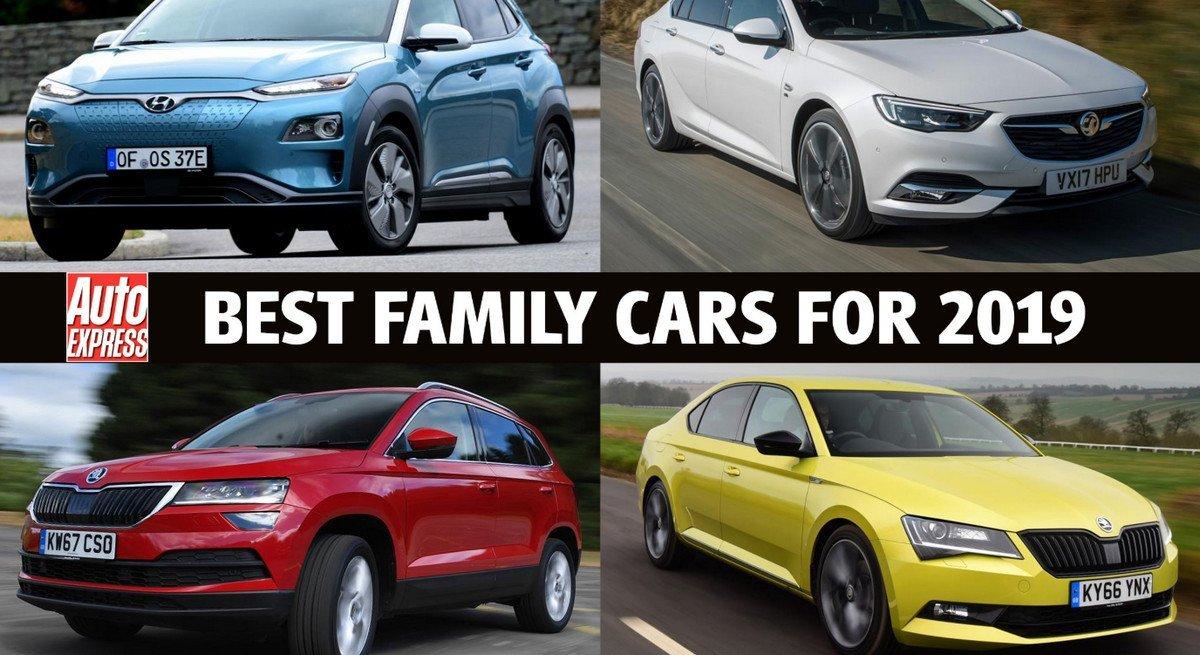 Best Family Cars Of 2019 Revealed