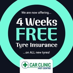 Have Your New Tyres Insured For Free